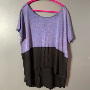 Free people color block top